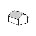 polovalbová střecha